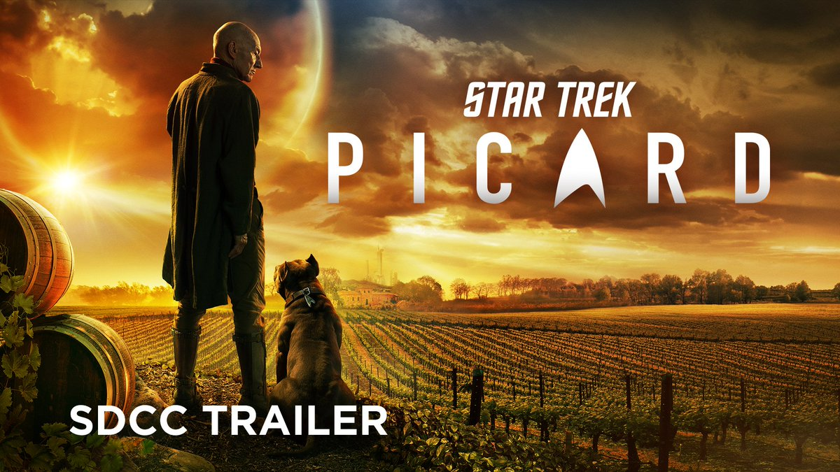 The journey is far from over. #StarTrekPicard #Picard #SDCC2019 #ComicCon
