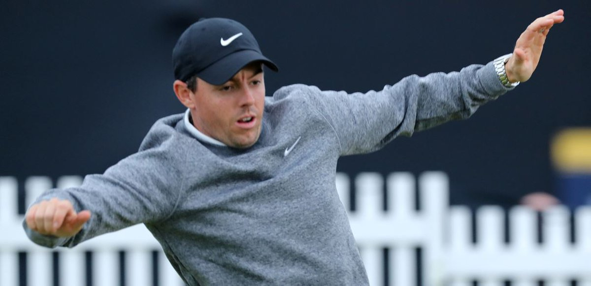 """An emotional Rory McIlroy said missing the cut at his home Open hurt but the """"love"""" from the crowd spurred him on.Full story ➡https://bbc.in/2XVCT0v #bbcgolf #TheOpen"""