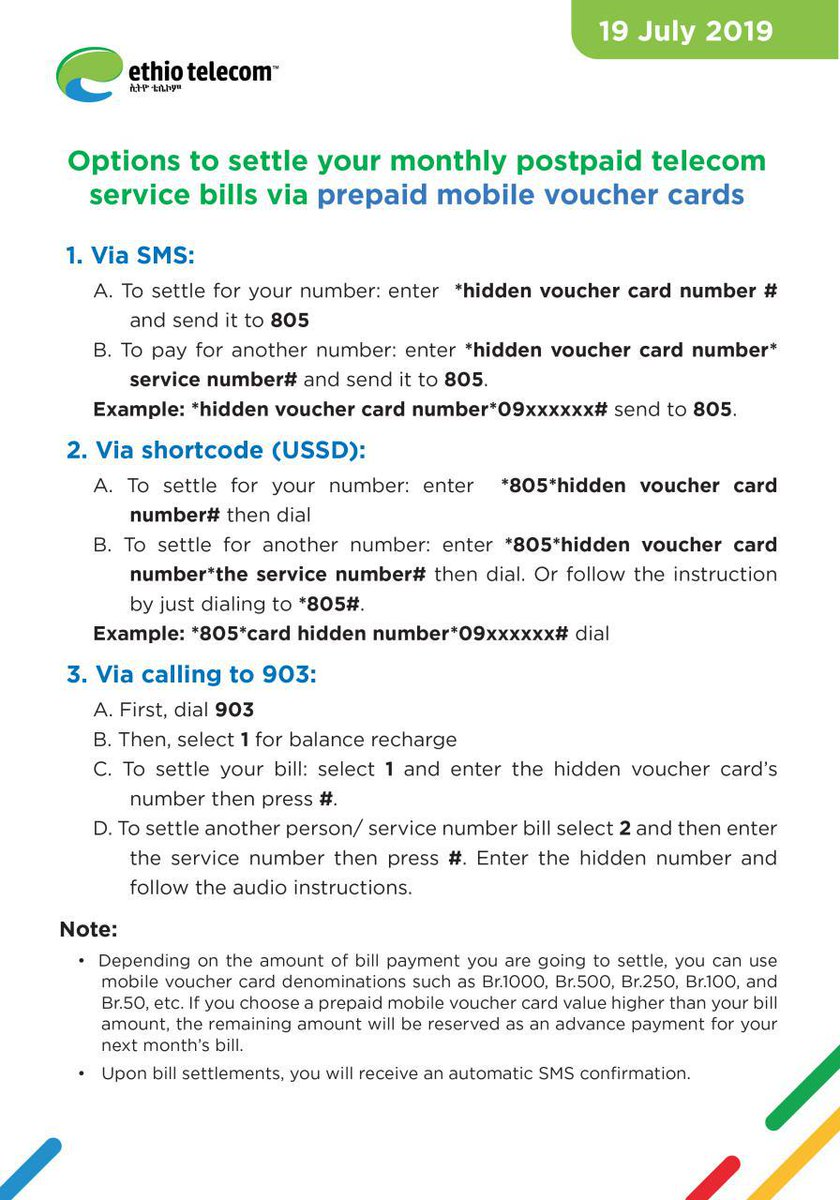 By Photo Congress || Ethio Telecom Package Services