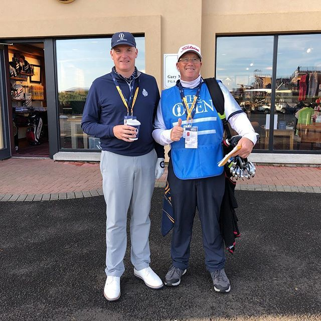 Head PGA Professional Gary McNeill is ready for his 9.35am tee time @theopen ⛳️🏌️♂️ Play well Gary! ift.tt/2Sugl0B
