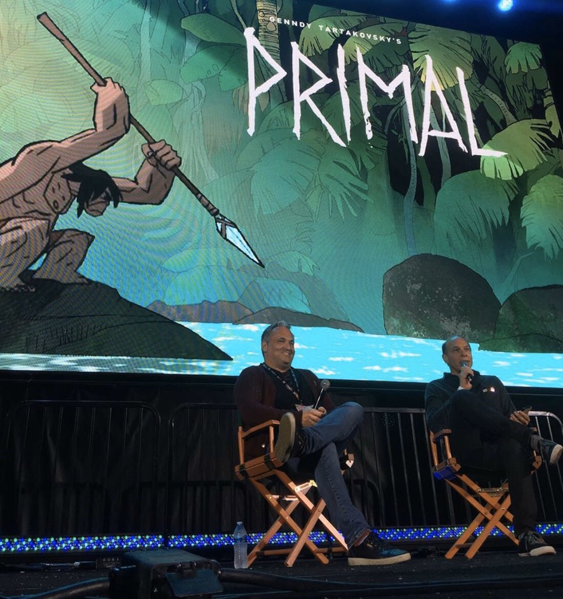 Genndy Tartakovsky talks about Primal: coming this fall to Adult Swim #SDCC