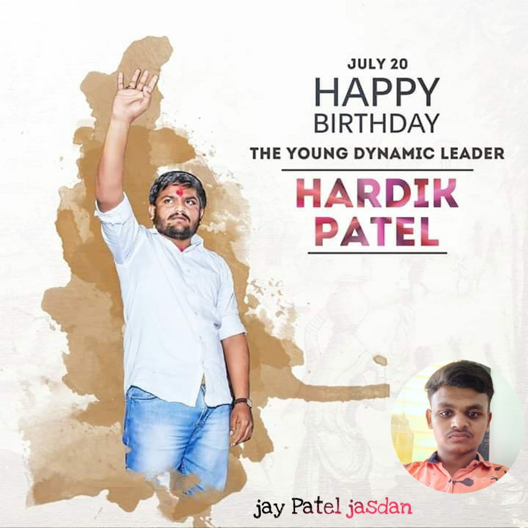 #Happy birthday#hardikpatel