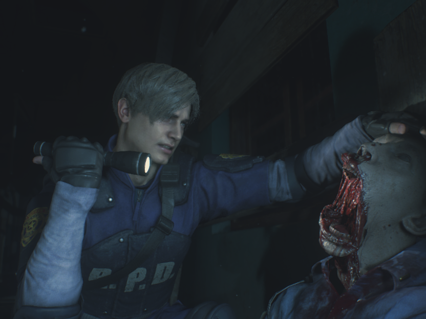 Re2Remake too?? Yay!! Super happy about that!!! #ResidentEvil2 #mod