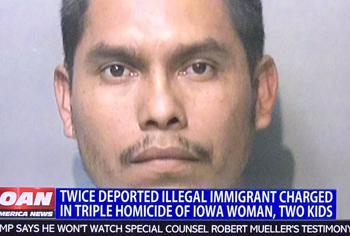An illegal from Guatemala Killed Iowa Women and her 2 children! @SpeakerPelosi @SenSchumer