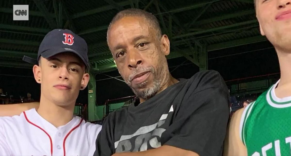 Three friends had an extra ticket to a Boston Red Sox game. Instead of selling it, they gave it to a man who they say was homeless. https://cnn.it/32OfCMO