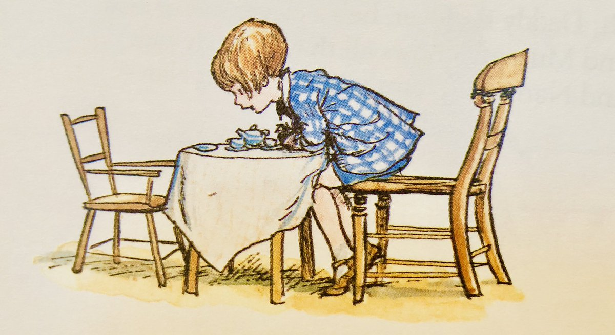 "Binker isn't greedy, but he does like things to eat, So I have to say to people when they're giving me a sweet, ""Oh, Binker wants a chocolate, so could you give me two?"" And then I eat it for him, 'cos his teeth are rather new. ~A.A.Milne #InvisibleFriend #SaturdayMotivation<br>http://pic.twitter.com/e5WBBJVt0e"