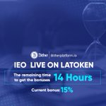 Image for the Tweet beginning: 💠IEO  LIVE ON LATOKEN  🎗Current