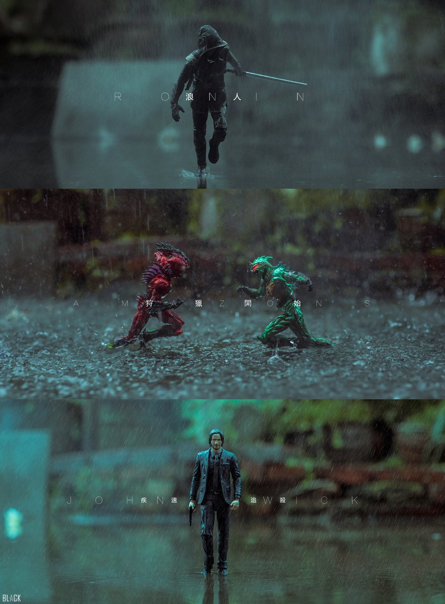 Three rains, three stories. #AvengersEndgame    #Amazons  #JohnWick  #mafex #shfiguarts #フィギュアーツ #フィギュアーツ写真部<br>http://pic.twitter.com/2mu6czV7Mr