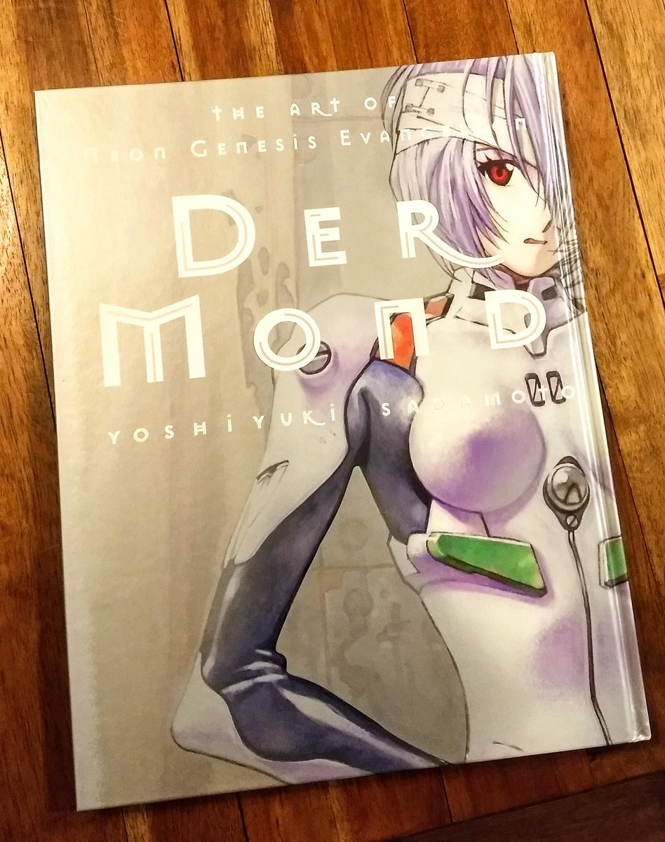 So I was going thru some boxes of old art books I had, and discovered I had an old Sakamoto Illustration collection! Includes tons of Eva illustrations, concepts, among other works of his! You can still get this on Amazon btw. Short image thread attached! #evangelion<br>http://pic.twitter.com/fpGLxpe3SP