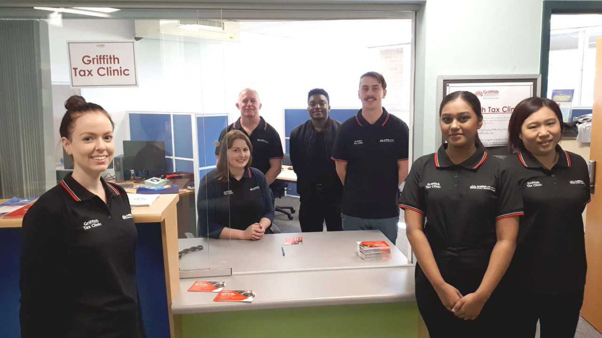 The student-run @Griffith_Uni #Tax Clinic recently launched and is now open to the community's most vulnerable people so they can access assistance in navigating Australia's complex #tax system.  http:// ow.ly/ANp650v2pM2     #ATO <br>http://pic.twitter.com/VkmuxjWBv6