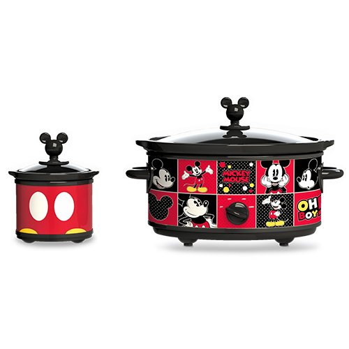 Classic Mickey Mickey Mouse Slow Cooker w/ 20oz Dipper 5qt Slow cooker is perfect for feeding your family and easily fits a whole chicken Includes a 20oz dipper https://www.antiemm.com/1_5_0_95_Classic-Mickey-Mickey-Mouse-Slow-Cooker-w-20oz-Dipper.html… #slowcooker #crockpot #multicooker #meals #jams