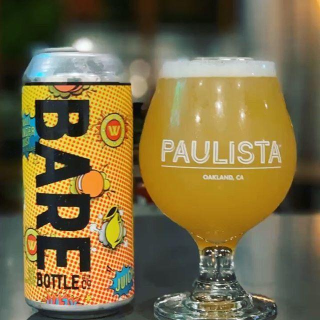 Small Wonder Dust Hazy Pale Ale from @barebottle . Whoa! . . . #beer #oakland #beerbar #restaurant #glenview #craftbeerporn #craftbeer #oaklandbeer #craftbeerlife #beerporn #instagood #craftnotcrap #instabeer #drinklocal #craftbeernerd #beeradvocate #bay… https://ift.tt/2xVrm1x