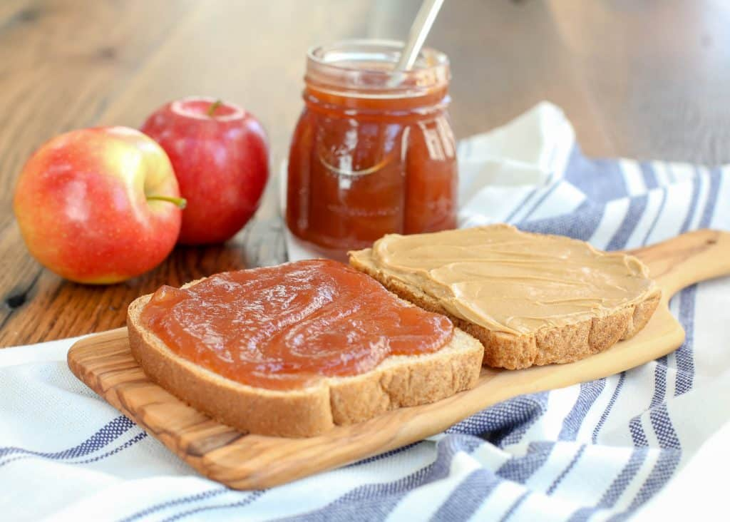 Crock-Pot Apple Butter https://barefeetinthekitchen.com/apple-butter-in-crock-po/… #recipe #slowcooker #crockpot #multicooker #jams