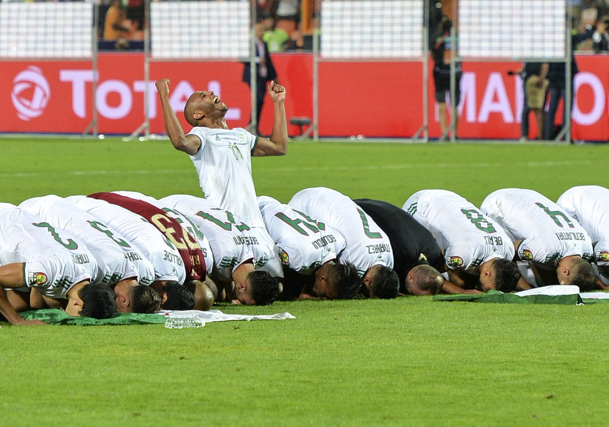 Riyad Mahrez helped Algeria win #AFCON2019, beating Senegal1-0 in the final
