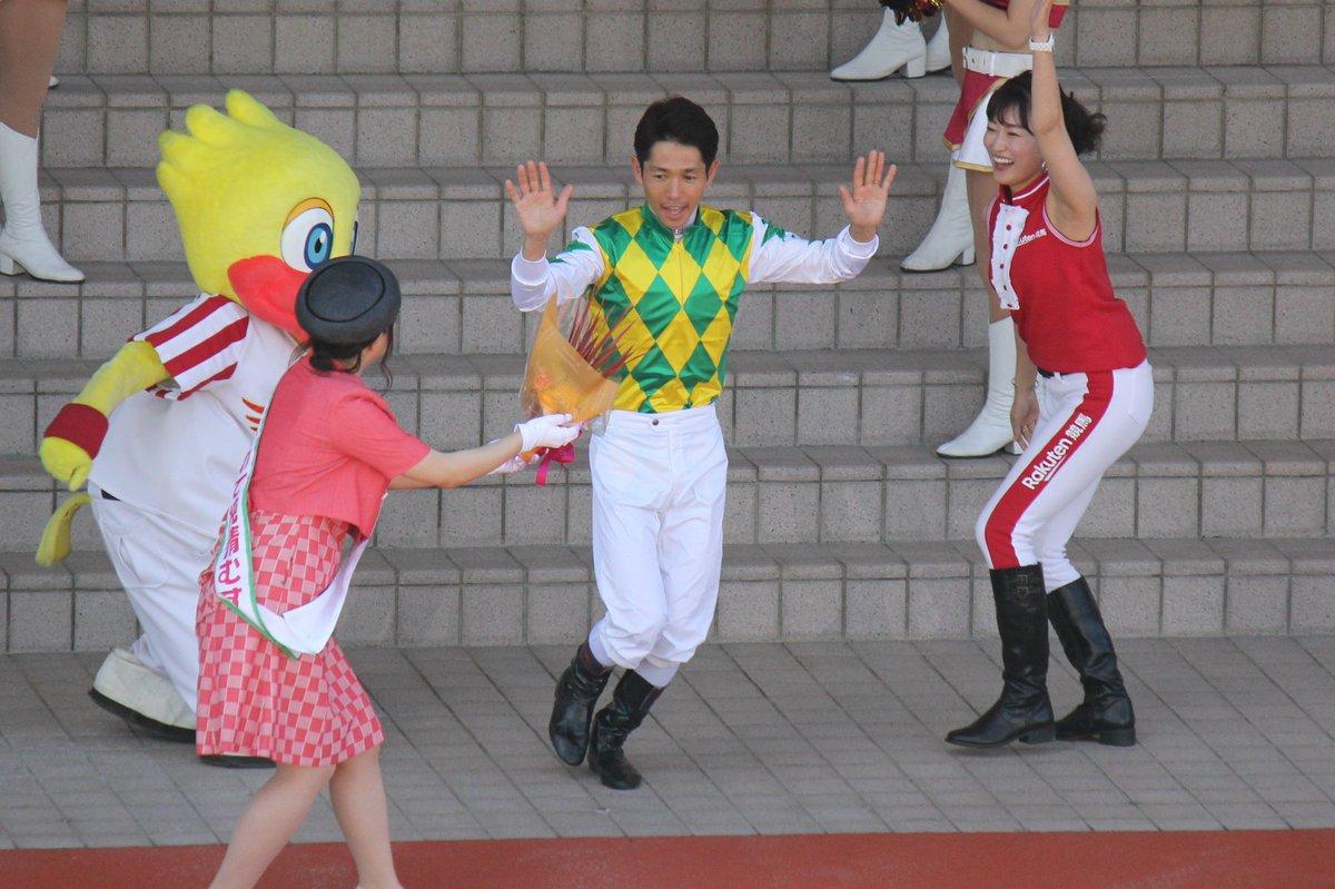 戸崎圭太ジョッキーも参戦でした