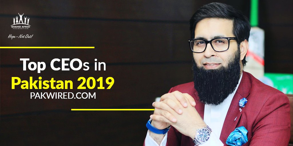 For the consecutive 2nd year running, SAF's services are recognized and the CEO of SAF, @ZAtalks is listed amongst the Top CEOs of 2019.  The work & efforts of SAF are being recognized both locally and globally.  https://pakwired.com/top-ceos-in-pakistan-2019/ …  #SAF #SAFcares #HopeNotOut @PakWired