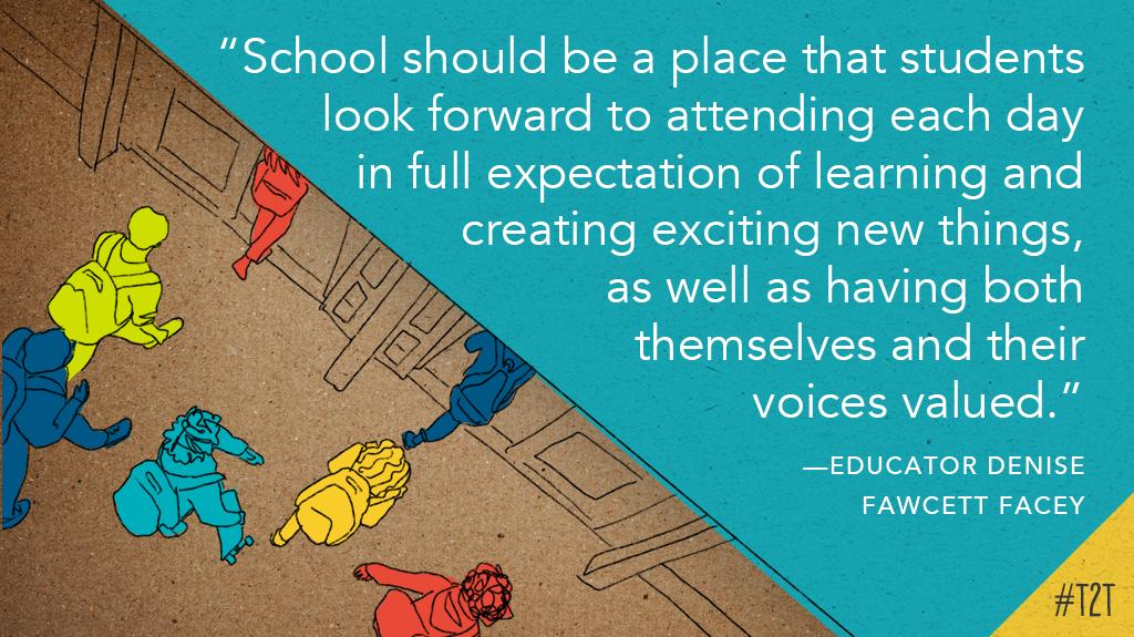 Learning. Doing. Loving each new day. #KidsDeserveIt #JoyfulLeaders, via educator @Edufacey