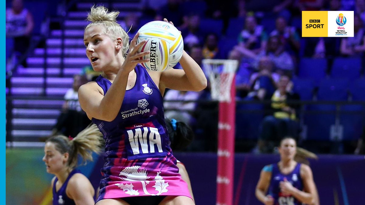 Both teams want this win badly!Q3: Barbados 33 - 39 ScotlandNetball is supposed to be a non-contact sport... 🙈Watch: @BBCiPlayer https://bbc.in/2K5o7dV #BBCNetball #NWC2019