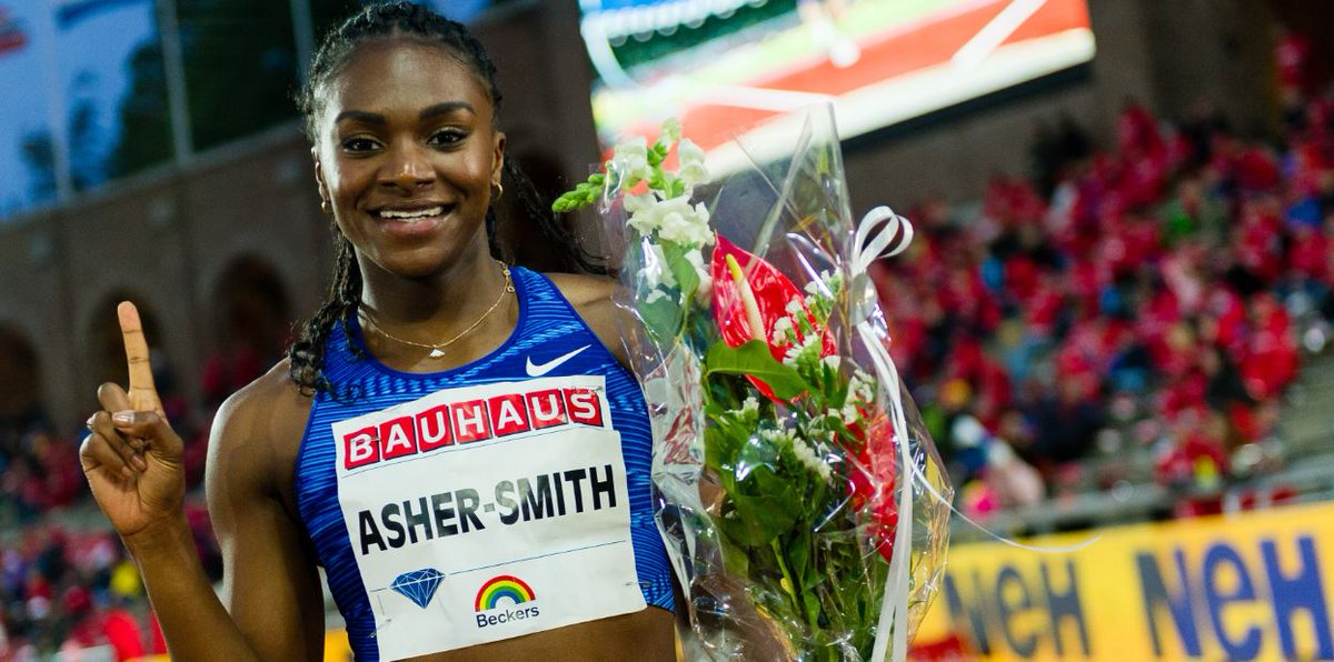 Britain's triple European sprint champion Dina Asher-Smith says she still doubts herself despite her success on the track.Here's why ➡https://bbc.in/2Swsbrd #AnniversaryGames #ChangeTheGame