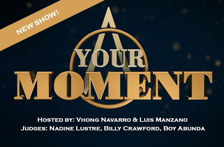 Something to look forward to!   YOUR MOMENT  Hosted by: Vhong Navarro and Luis Manzano Judges: Nadine Lustre, Billy Crawford and Boy Abunda  Coming soon on ABS-CBN!  #IndakTourAtFarmersPlaza <br>http://pic.twitter.com/Q7Yh9OaVQL