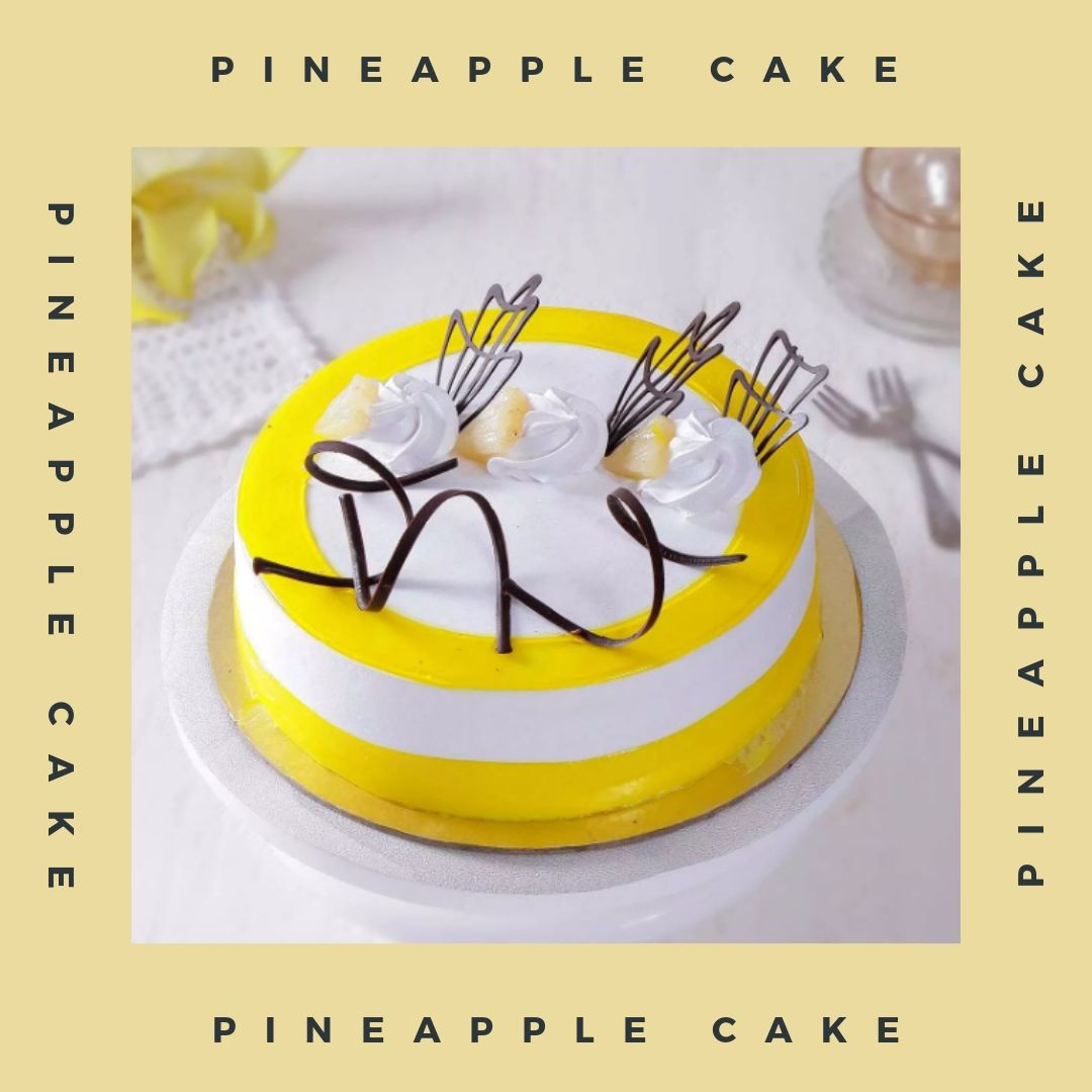 Buy Pineapple Cakes for birthday parties and get it delivered on the same day.   #PineappleCake #Pineapple #sendgifts #sendgiftsahmedabad #chocolatecake #cakelover #gifts #giftsshop #ahmedabad