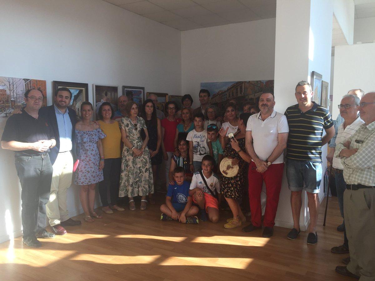 Los integrantes del Taller de Pintura de Medina de Rioseco y Tierra de Campos pincelada a pincelada les enseñaran cómo nace una obra de arte. #MuseoDelQueso