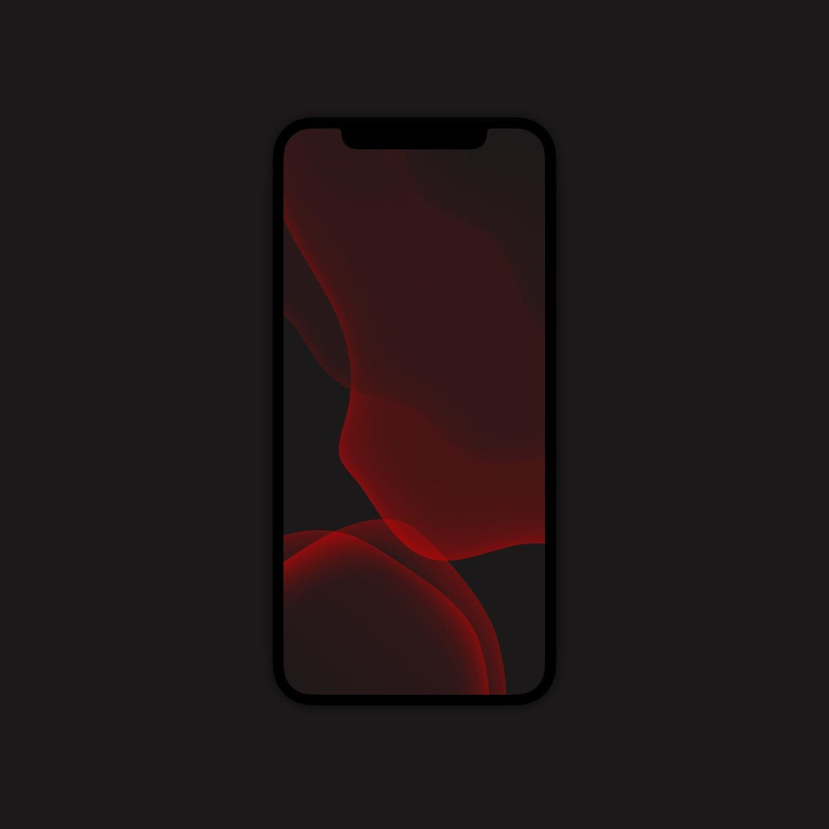 Whoever Like The Dark New Ios 13 Red Wallpaper Iphonex
