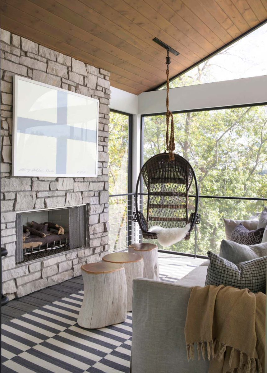Dreamy modern farmhouse nestled on a bluff overlooking Prior Lake https://onekindesign.com/2019/07/12/dreamy-modern-farmhouse-minnesota/…