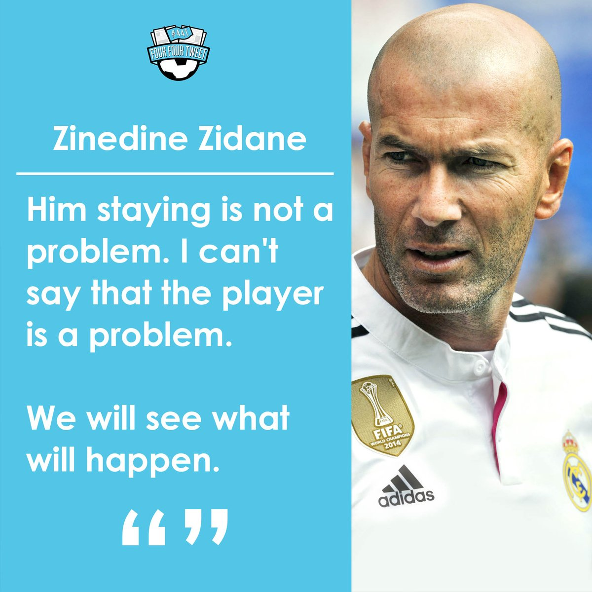 Twitter Reacts to Zidane s Bale Quotes