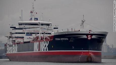 France and Germany have condemned Iran's seizure of a British-flagged tanker in the Gulf, calling on the Islamic Republic to release the vessel and de-escalate tensions https://cnn.it/2Y9Shpn