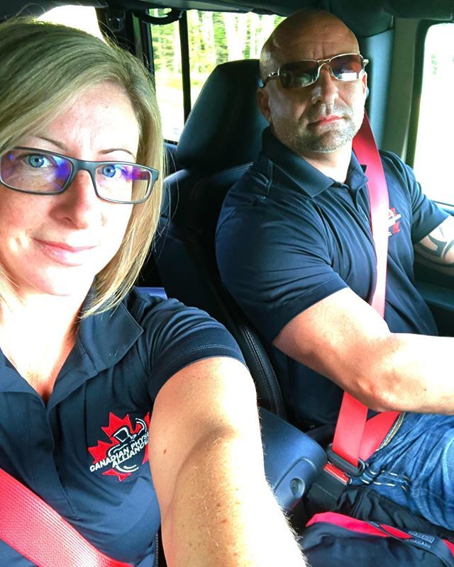 Show time!! Heading to New Brunswick CPA natural championship. Can't wait to see everyone all tanned up😎. . . #cpa #natural #naturalchampionship #bodybuilding #physique #figure #bikini https://ift.tt/32HhLtp