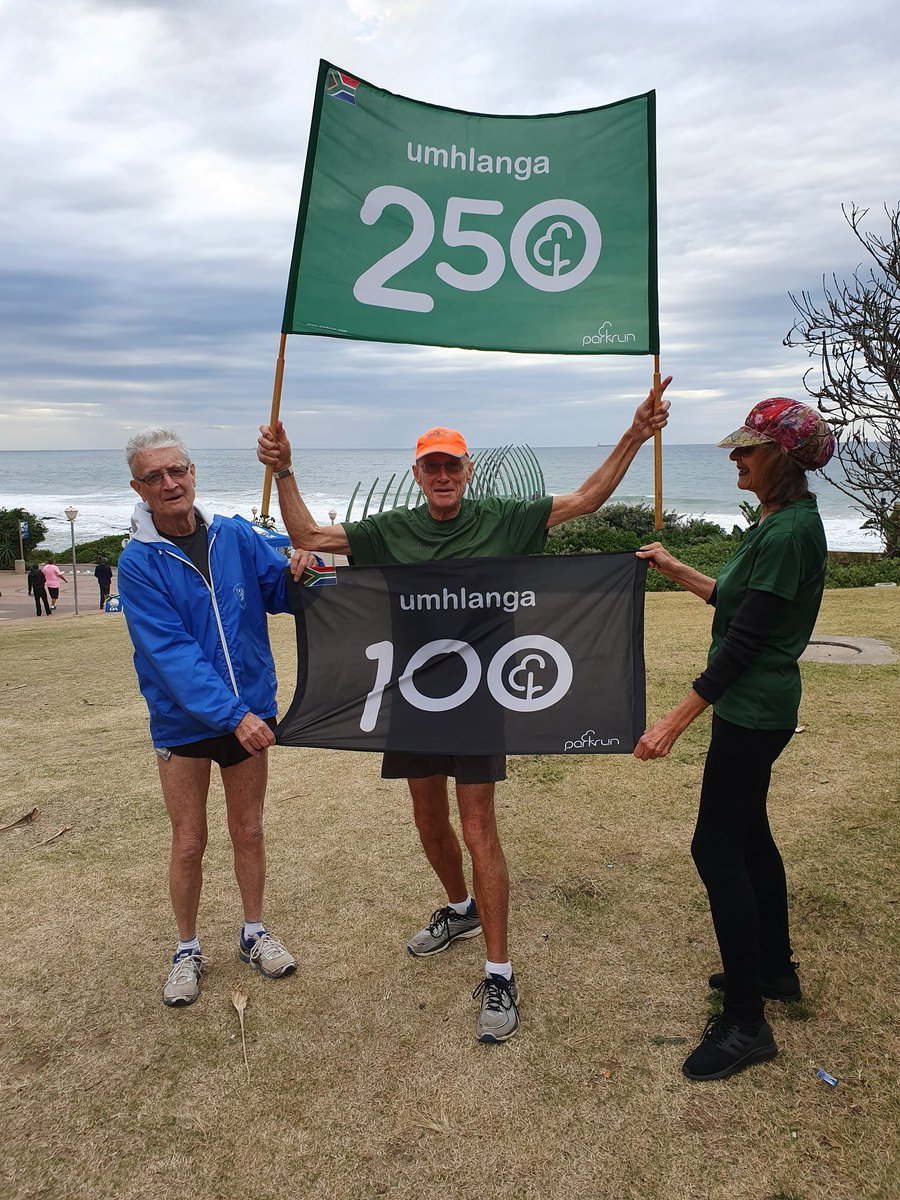 Peter Hawthorne completed his #350thparkrun today at Umhlanga parkrun! So proud of him and #grateful for his #volunteer stints and his #inspiration! #loveparkrun @parkrun