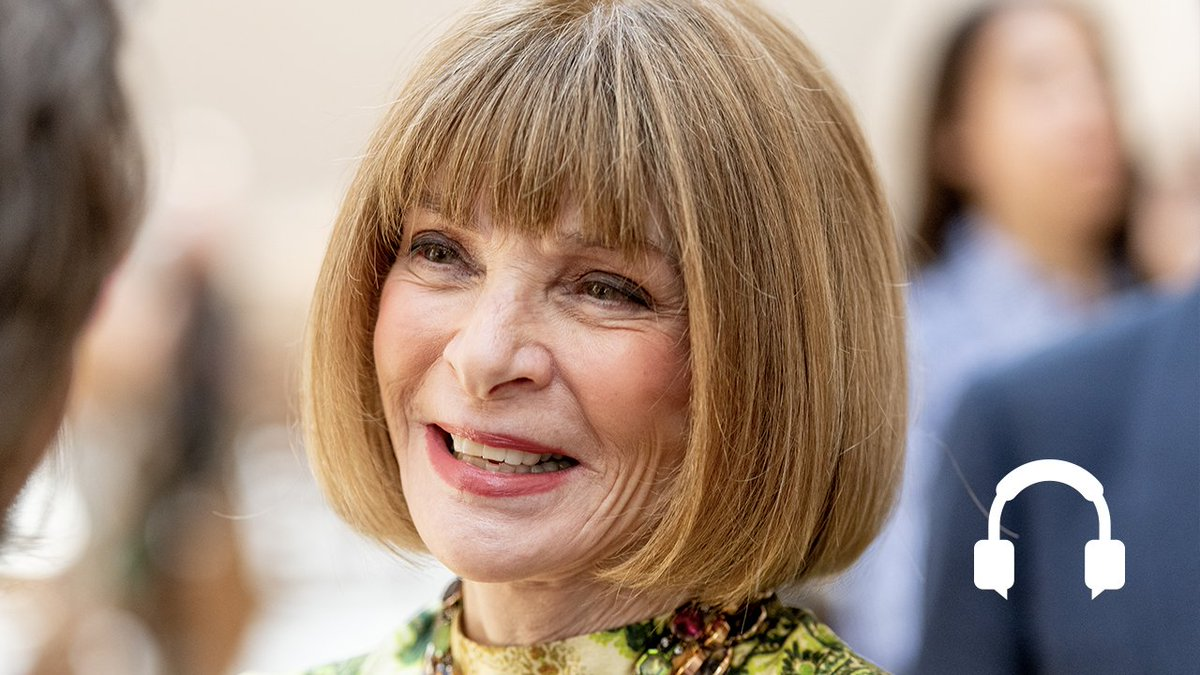 "Can fashion keep up with 21st-century trends? @AnneMcElvoy asks Anna Wintour, editor-in-chief of Vogue, on ""The Economist asks"" podcast https://econ.st/2Y5Quxb"