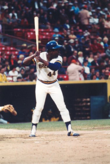On this date in 1976, Hank Aaron hit his 755th and final home run.
