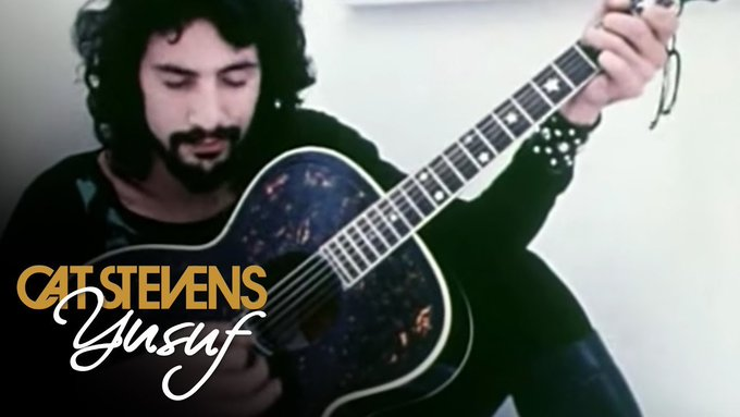 """July 21:Happy 71st birthday to a singer,Cat Stevens (\""""Peace Train\"""")"""