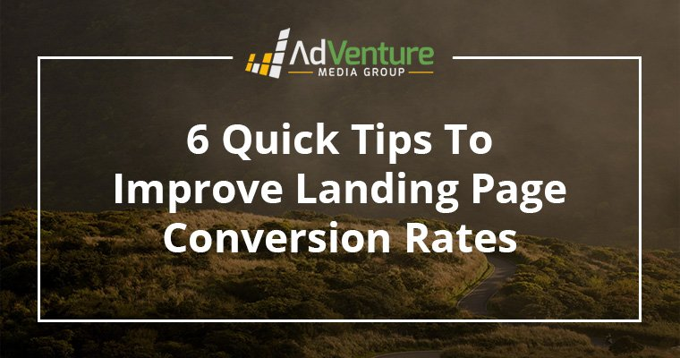 6 Quick Tips to Improve Landing Page Conversion Rates #DigitalMarketing #GrowthHacking #OnlineMarketing #InboundMarketing #GrowthMarketing
