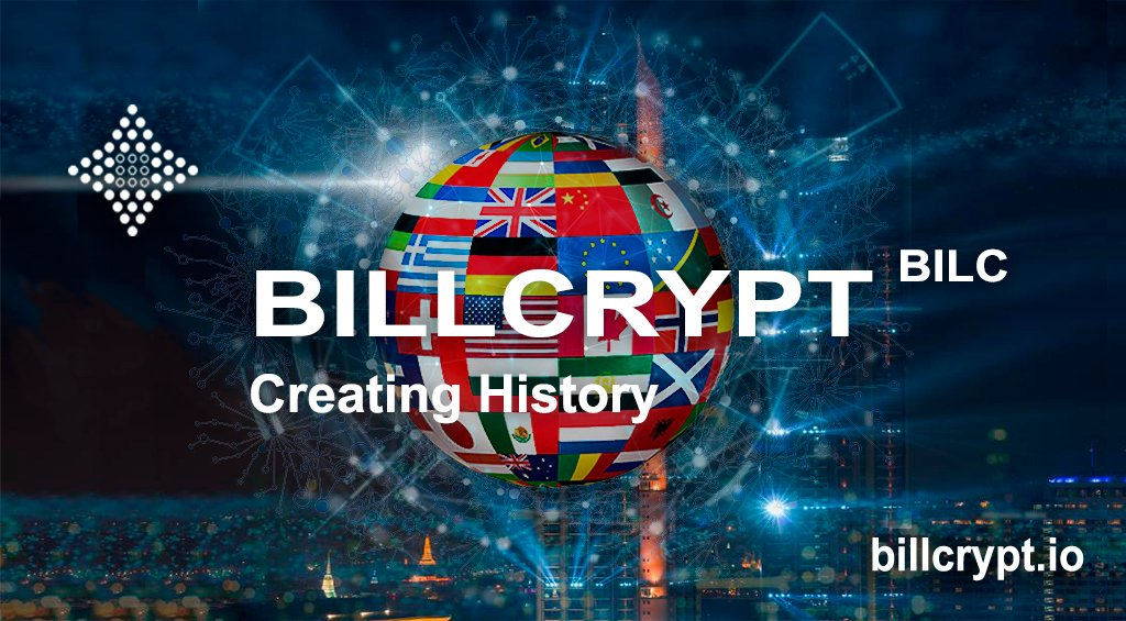BILLCRYPT strides across the planet! Complete list of language localizations for now. Soon it will be in other languages. Read the Whitepaper in your language https://medium.com/@BILLCRYPT/billcrypt-strides-across-the-planet-ecd95f5f27fc?sk=d0a78b2fc109600b7838495687c633ee…  #crypto #cryptocurrency #CryptoNews #ICO #cryptocurrencies #cryptocurrencynews #investment