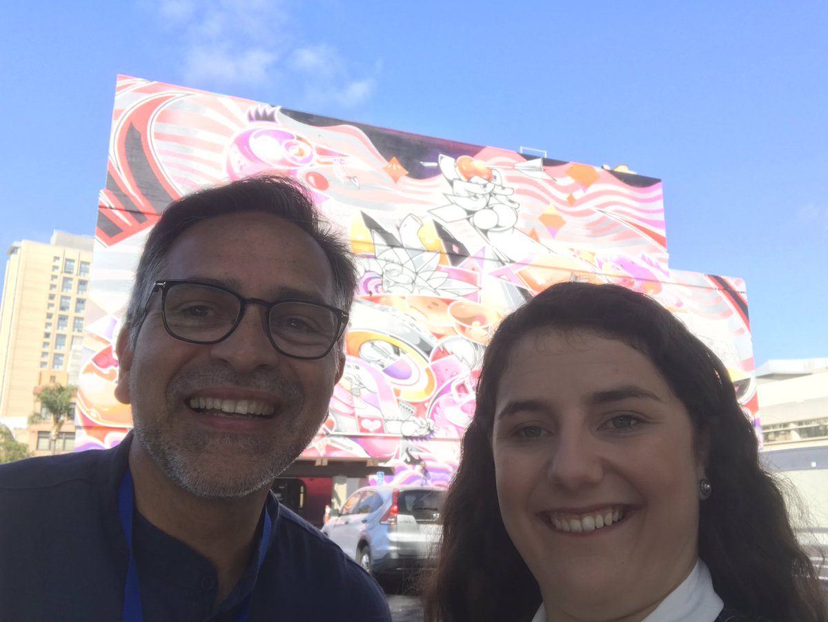 I had the privilege to be Dr. Sanchez-Alvarado's @Planaria1 trainee guide. Over coffee we had marvelous conversation on everything from cattle to pcr before thermocyclers. What a wonderful inspiring scientist and a great opportunity fostered by @SSRepro. #SSR2019 <br>http://pic.twitter.com/NRrot9jKcq