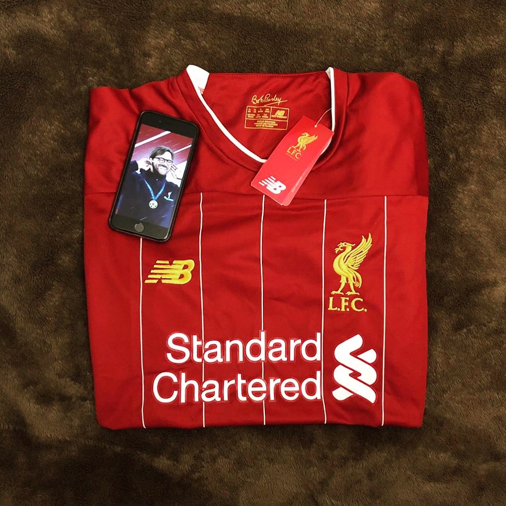 I have a Liverpool 2019/20 Home Shirt to giveaway.   Simply RT this post and follow @AnfieldRd96   Winner will be chosen on the 25th of July.