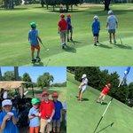 Image for the Tweet beginning: @PGAJuniorGolf Camp with 8 great