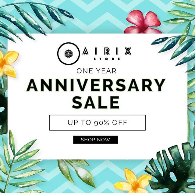 Thank you for starting with us. #airixstore #jewelry #accessories #bags #makeup #oneyearanniversary #onlineshopping #onlinestore #fashionaccessories