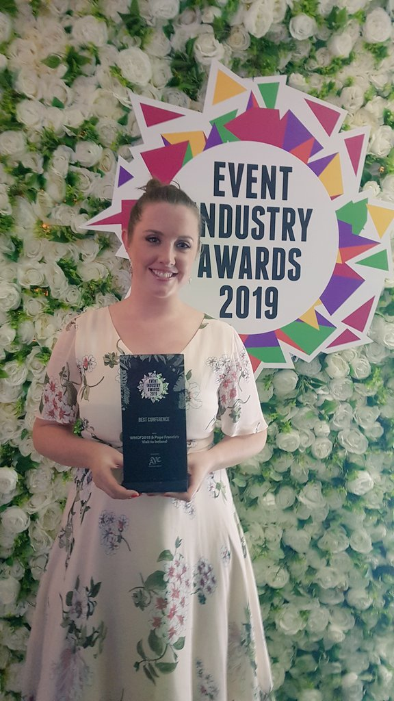 Very proud of this award winning best conference event for the Popes Visit to Ireland #EventAwardsIRL #eventprofs @EventAwardsIRL<br>http://pic.twitter.com/luXN1lK1Q9
