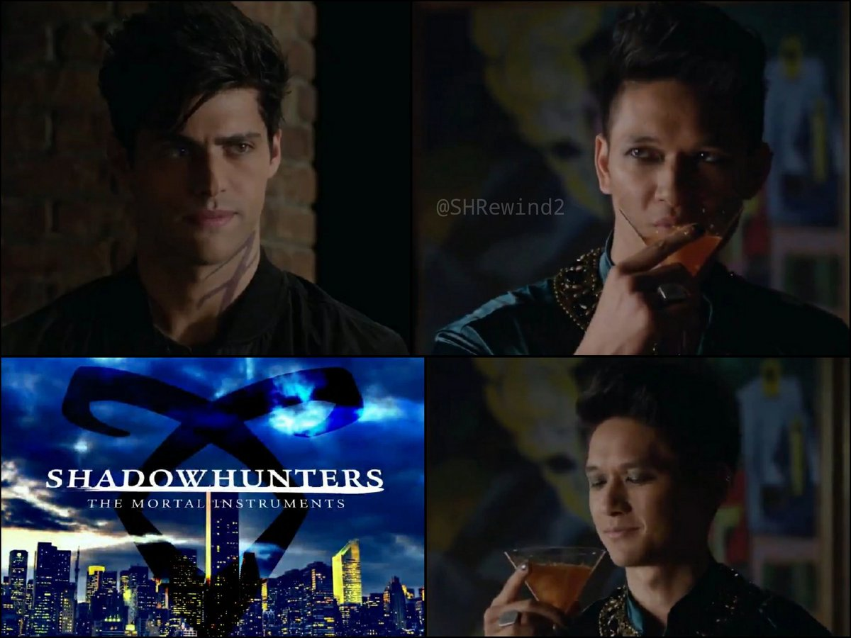 SHADOWHUNTERS Season 1. Episode 11 «Blood Calls to Blood» Give me some of that drink 🤤😅 Monday 22/7 - 8pm EST/ 2am CET Tuesday 23/7 - 7pm BST/ 8pm CET