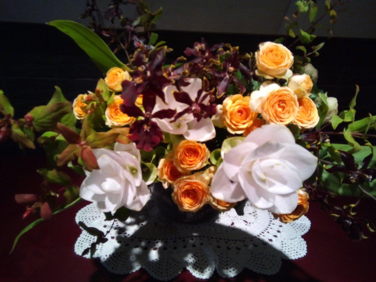 天のお父様、お父さん、お母さん、今日も明日も毎日、頑張る。働く。ありがとう。  #天のお父様 #お父さん #お母さん #花