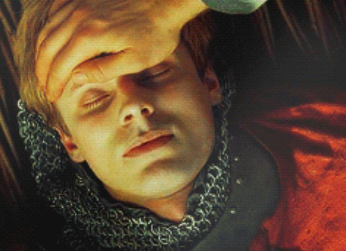 merlin touching the forehead of the one he loves before he let's them go, forever. <br>http://pic.twitter.com/ViqIB9Xq3C