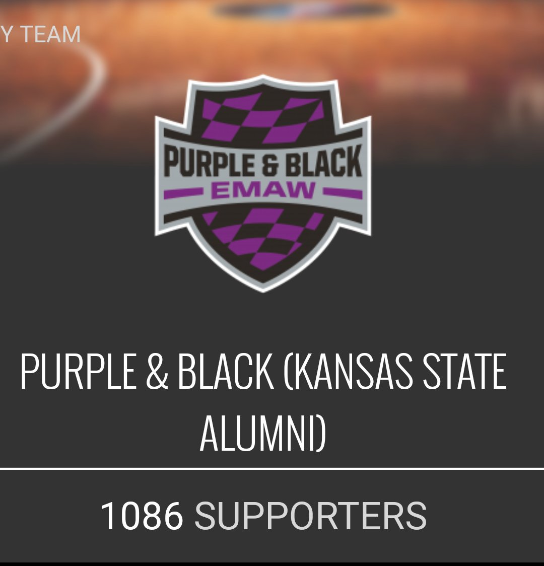 @PurpleBlack2K19 you guys have over 1000 now, let's keep it going. #EMAW #TBT2019 https://t.co/pDJWlwkuDj