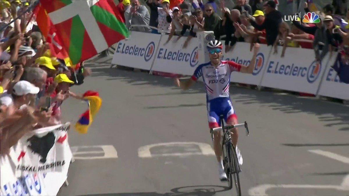 Thibaut Pinot wint 14e etappe in Tour de France 2019