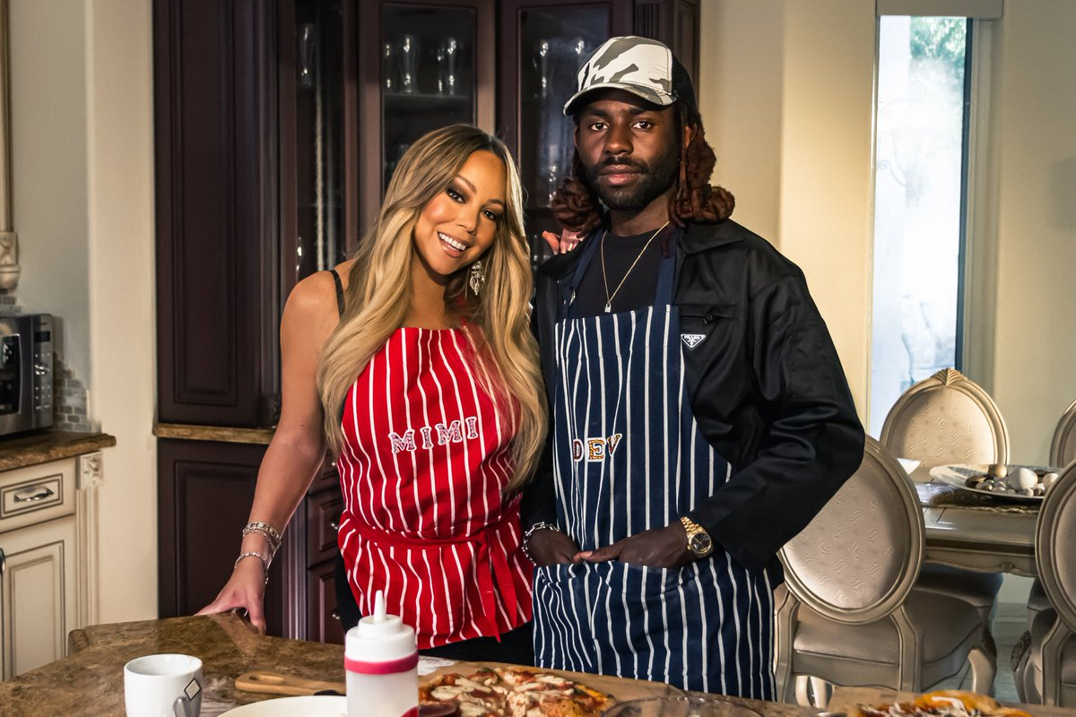 On the next #MomentsWithMimi, Dev and I put on our aprons and learn how to make pizza ! Tune in on Monday on my #igtv!<br>http://pic.twitter.com/xtPCcqlgWf
