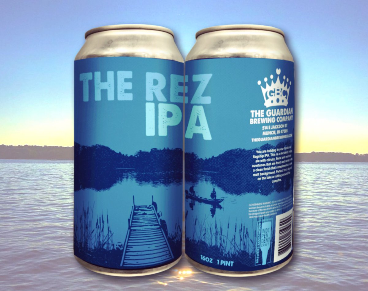 It's going to be a hot one today. Grab a 4 pack of The Rez IPA on the way to your favorite swimming hole! . . . #dwntwnmuncie #drinkmunciebeer #thinkmunciedrinkmuncie #craftbeer #craftbeerporn #drinkIN #INbeer