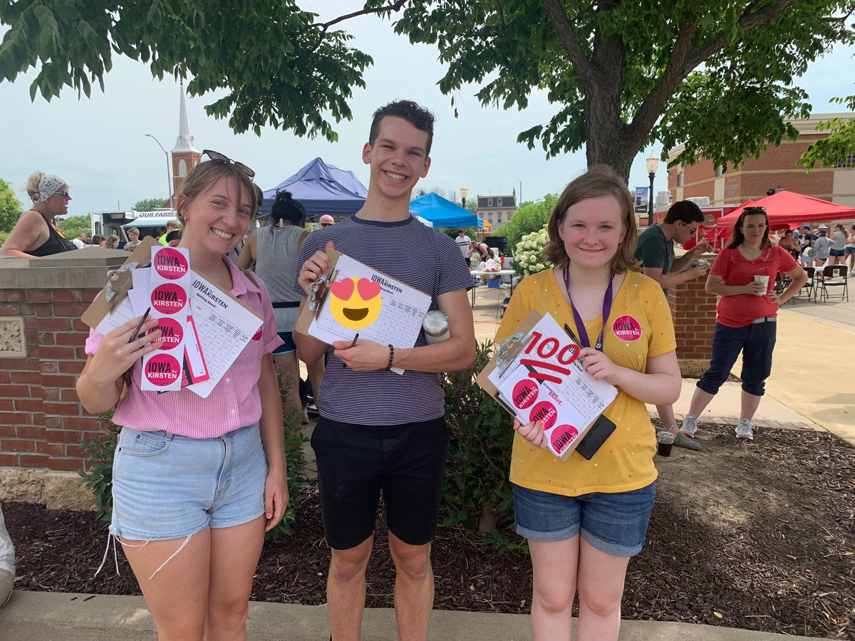 get you volunteers that will canvass in 90 degree weather #hot #campaign #summer